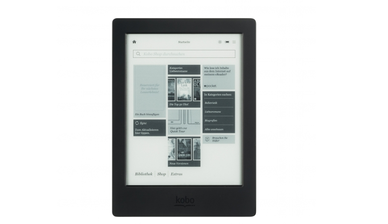 E-Book Reader kobo aura H20 im Test, Bild 1