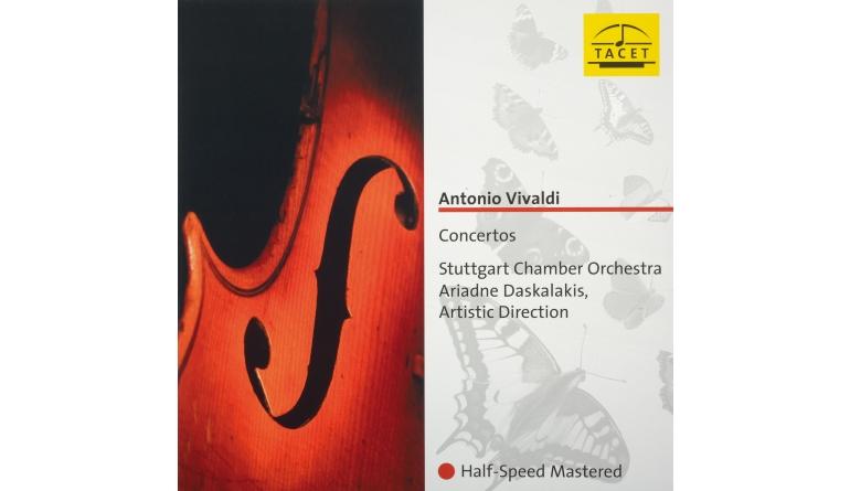 Schallplatte Komponist: Antonio Vivaldi · Interpret: Stuttgarter Kammerorechester · Dirigent: Ariadne Daskalakis - Concertos (Tacet) im Test, Bild 1