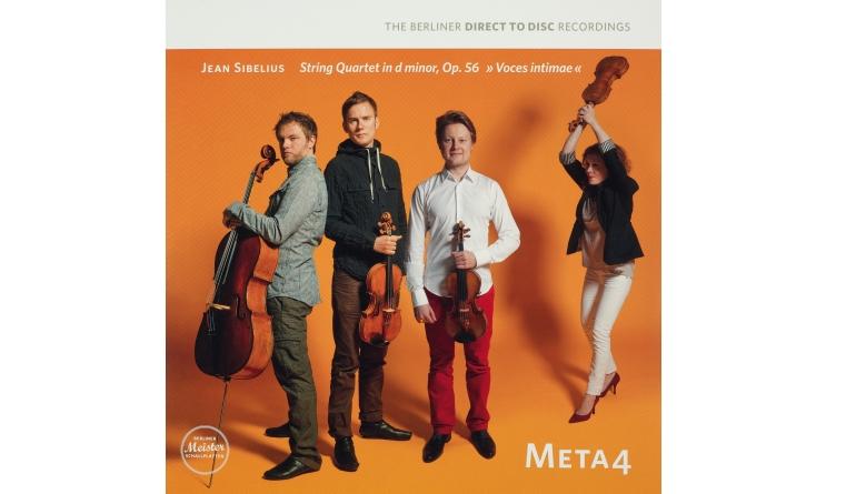 Schallplatte Komponist: Jean Sibelius / Interpret: Meta4 - Streichquartett d-Moll (Berliner Meister Schallplatten) im Test, Bild 1