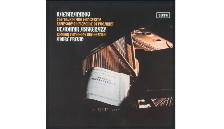 Schallplatte Komponist: Sergei Rachmaninov Interpret: Vladimir Ashkenazy, London Symphony Orchestra, André Previn - The Four Piano Concertos, Rhapsody on a theme of Paganini (Decca Classics) im Test, Bild 1