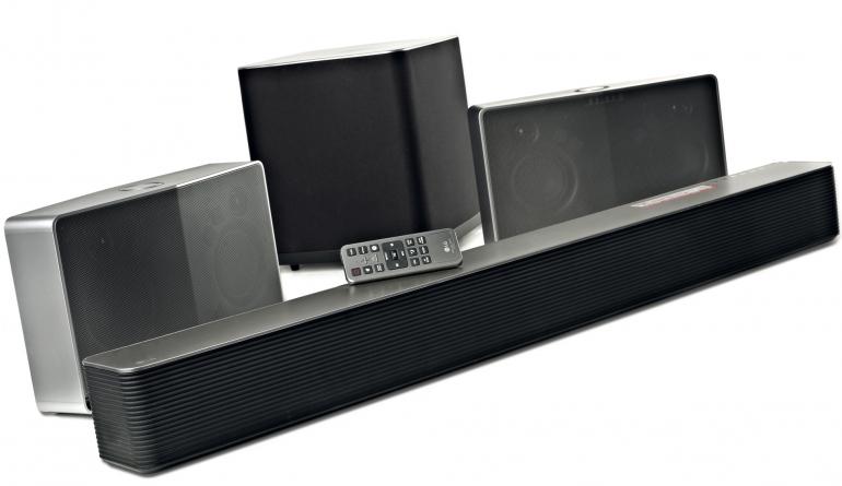 Wireless Music System LG HS9 + H7 im Test, Bild 1