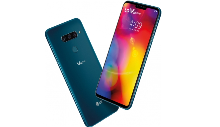 Smartphones LG V40 ThinQ im Test, Bild 1