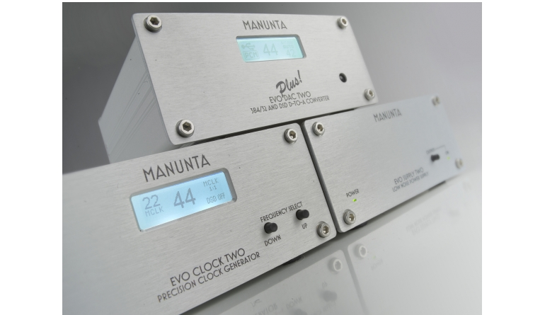 D/A-Wandler Manunta Evo DAC Two Plus, Manunta Evo Clock Two, Manunta Evo Supply Two im Test , Bild 1