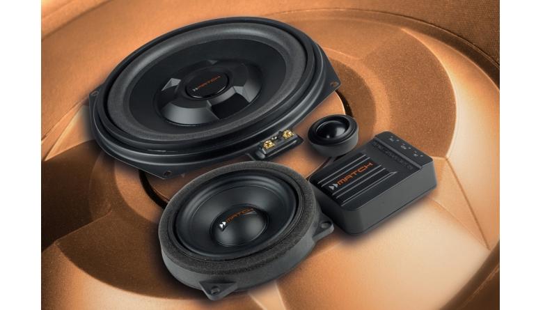 Car-HiFi Lautsprecher fahrzeugspezifisch Match MS 83C-BMW.2 im Test, Bild 1