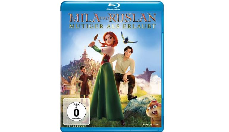 Blu-ray Film Mila und Ruslan – Mutiger als erlaubt (Eurovideo) im Test, Bild 1