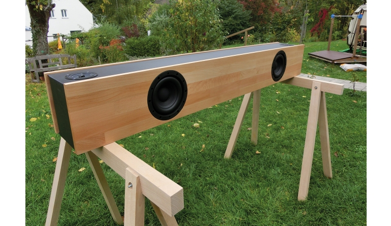 Lautsprecherbausätze Monacor Soundbar im Test, Bild 1