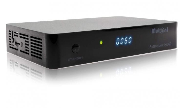 Sat Receiver ohne Festplatte Mutant HD60 im Test, Bild 1