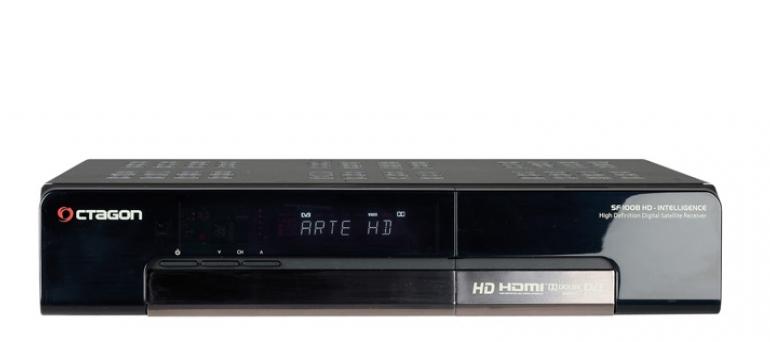 Sat Receiver ohne Festplatte Octagon SF-1008HD im Test, Bild 1
