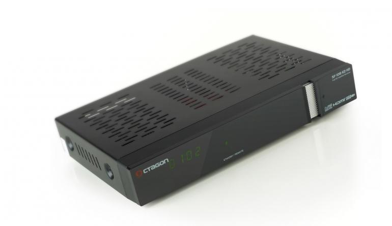 Sat Receiver ohne Festplatte Octagon SF 108 E2 HD im Test, Bild 1