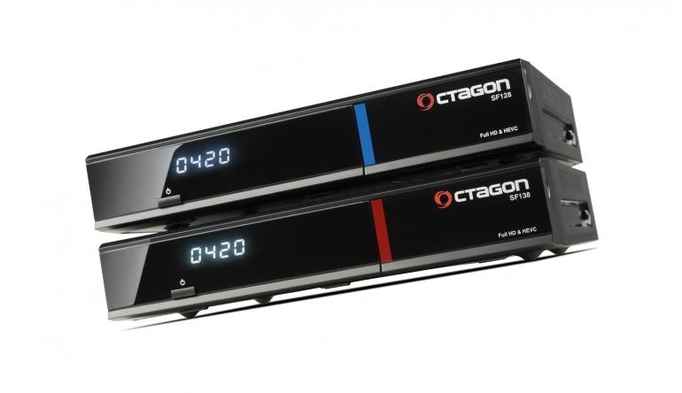 HDTV-Settop-Box Octagon SF128, Octagon SF138 im Test , Bild 1