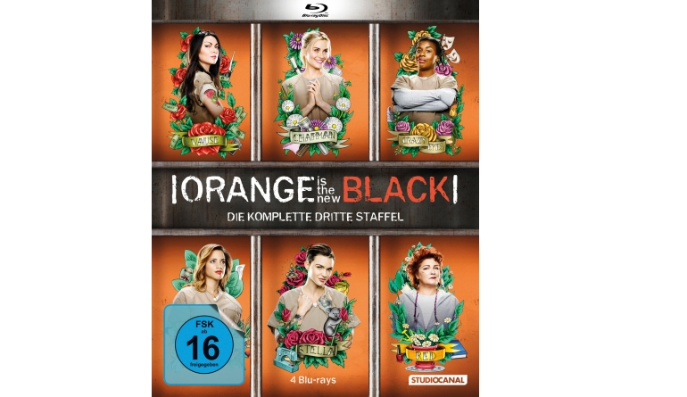 Blu-ray Film Orange is the New Black S3 (Studiocanal) im Test, Bild 1