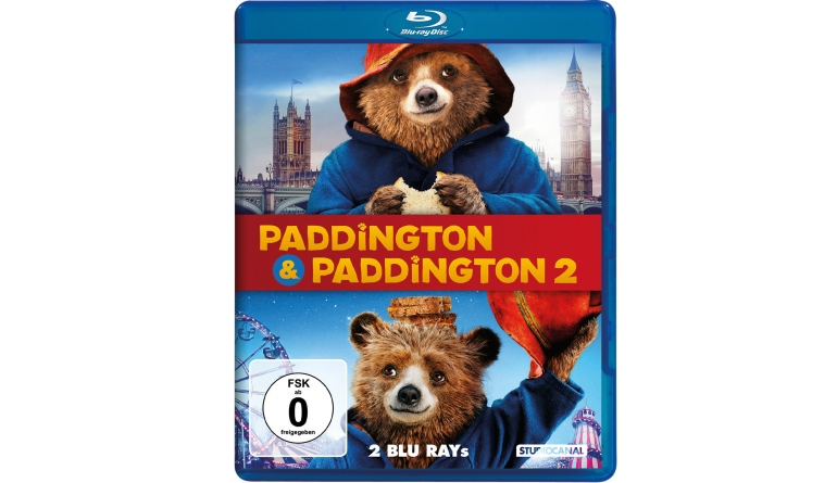 Blu-ray Film Paddington 1 & 2 (Studiocanal,) im Test, Bild 1
