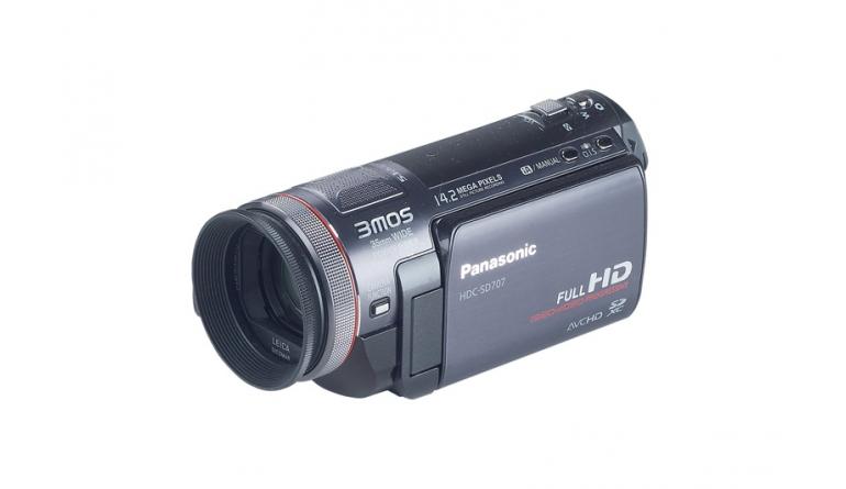 Camcorder Panasonic HDC-SD707 im Test, Bild 1
