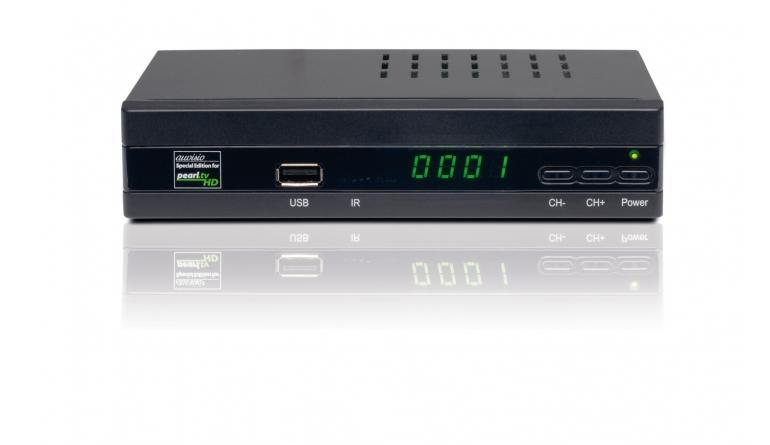 Sat Receiver ohne Festplatte Pearl Auvisio ZX-2825 im Test, Bild 1