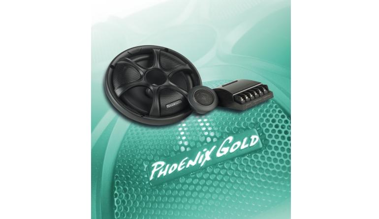 Car-HiFi-Lautsprecher 16cm Phoenix Gold RX65CS im Test, Bild 1