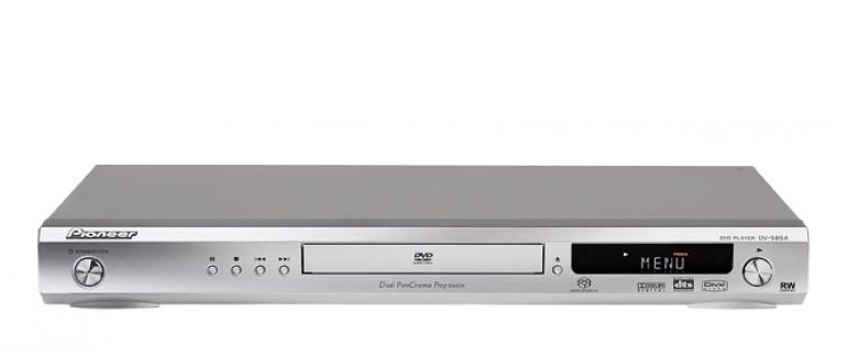 DVD-Player Pioneer DV-585-A-S im Test, Bild 1