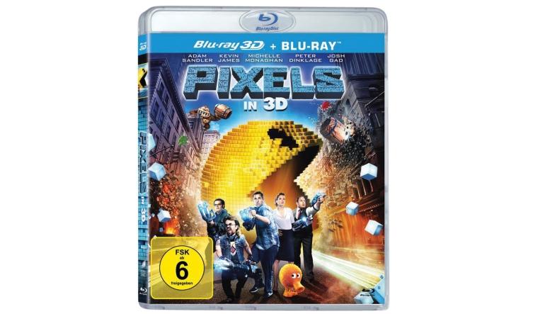 Blu-ray Film Pixels 3D (Sony) im Test, Bild 1