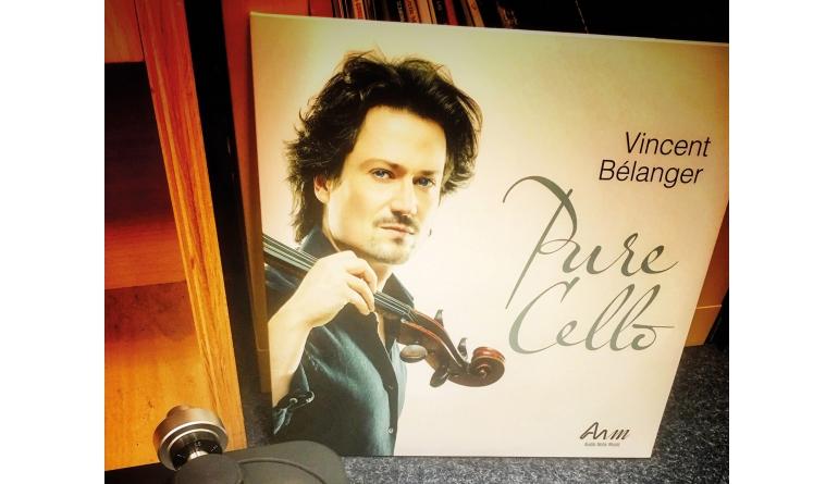 Schallplatte Pure Cello - Komponist: Diverse. Interpret: Vincent Bélanger (Audio Note Music) im Test, Bild 1