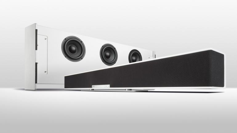 teufel raumfeld soundbar wireless soundbar wireless subwoofer streaming spotify kabellos. Black Bedroom Furniture Sets. Home Design Ideas