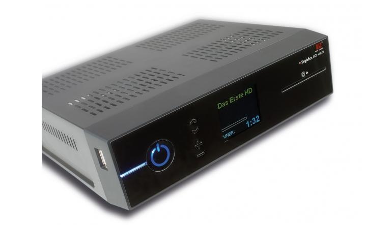 Sat Receiver ohne Festplatte RedEagle SingleBox LCD im Test, Bild 1