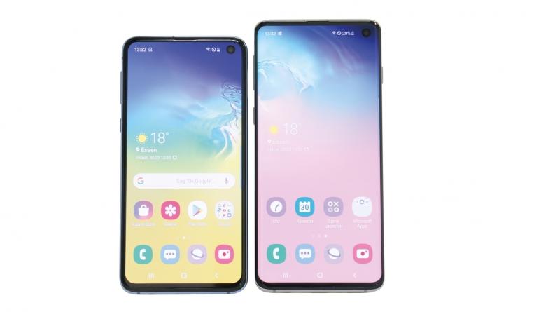 Smartphones Samsung Galaxy S10, Samsung Galaxy S10e im Test , Bild 1