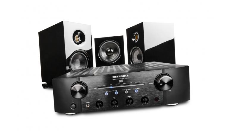 Stereoanlagen Saxxtec CLX 3 / DS 120 DSP / Marantz PM8006 im Test, Bild 1