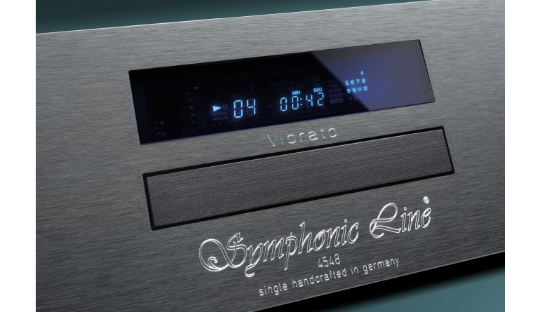 CD-Player Symphonic Line Vibrato im Test, Bild 1