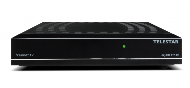 DVB-T Receiver ohne Festplatte Telestar digiHD TT 5 IR im Test, Bild 1