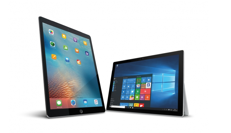Tablets: Test: Apple iPad Pro versus Microsoft Surface 4 Pro, Bild 1