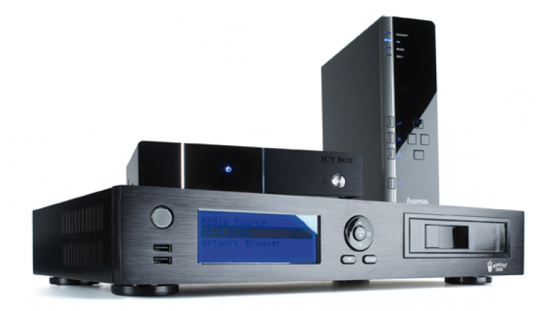 DLNA- / Netzwerk- Clients / Server / Player: Test: Mediaplayer von Hama, Raidsonic und Noveltech, Bild 1