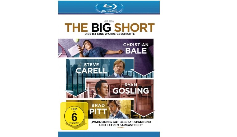 Blu-ray Film The Big Short (Paramount) im Test, Bild 1