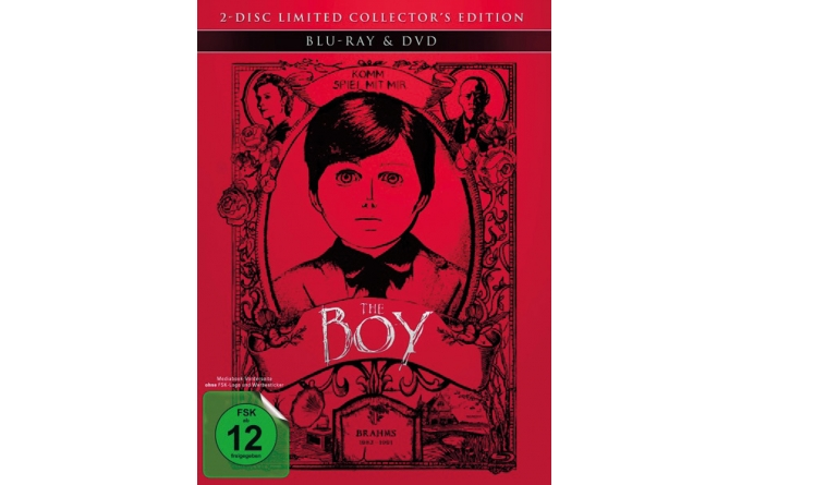 Blu-ray Film The Boy (Capelight Pictures) im Test, Bild 1