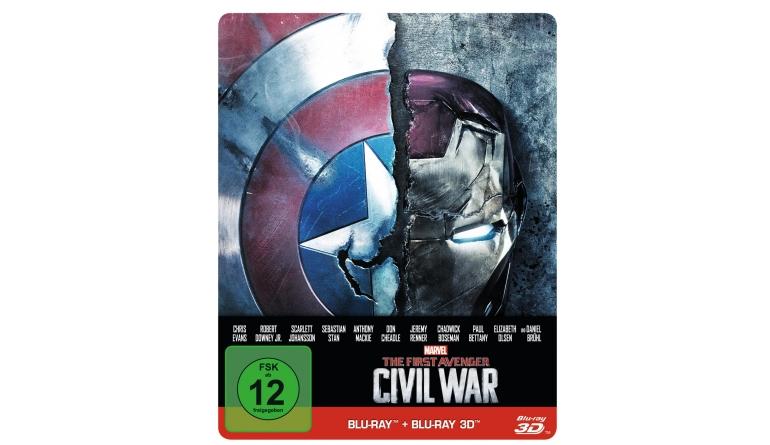 Blu-ray Film The First Avenger: Civil War (Walt Disney) im Test, Bild 1
