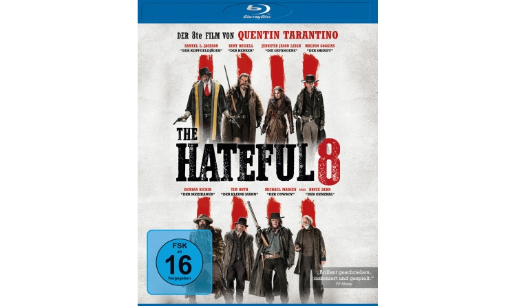Blu-ray Film The Hateful 8 (Universum) im Test, Bild 1