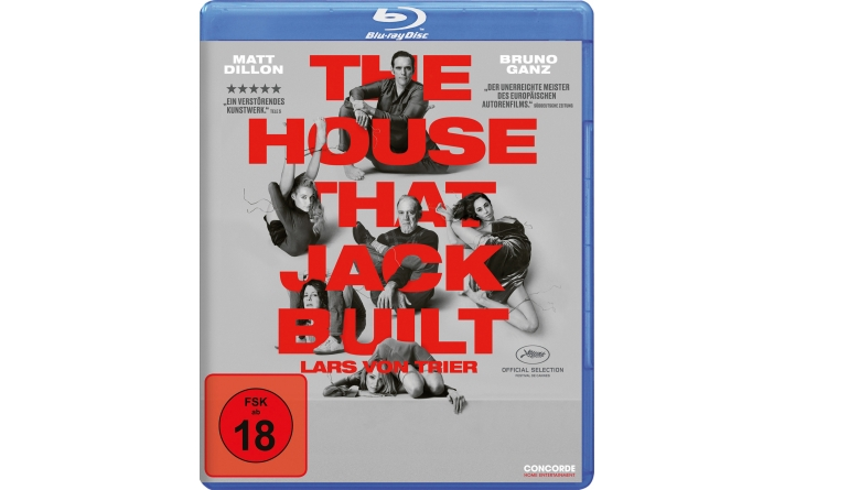 Blu-ray Film The House That Jack Built (Concorde) im Test, Bild 1
