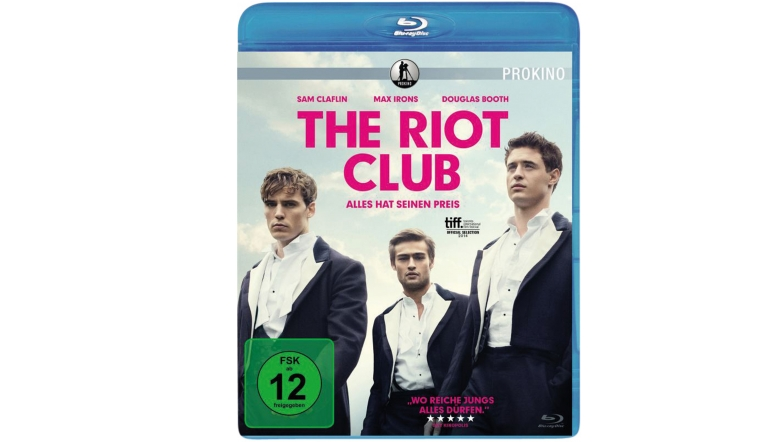 Blu-ray Film The Riot Club (Prokino) im Test, Bild 1