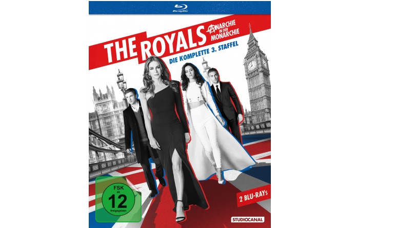 Blu-ray Film The Royals S3 (Studiocanal) im Test, Bild 1