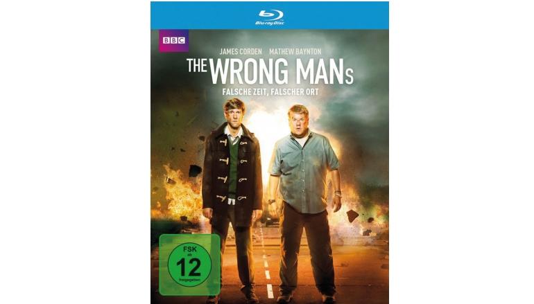 Blu-ray Film The Wrong Mans – Falsche Zeit, falscher Ort (Polyband) im Test, Bild 1