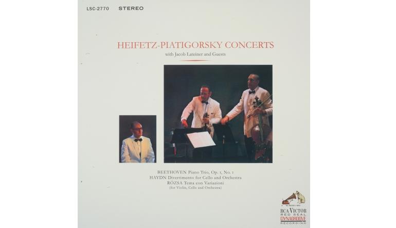 Schallplatte Titel: Heifetz-Piatigorsky Concerts (RCA/Impex) im Test, Bild 1