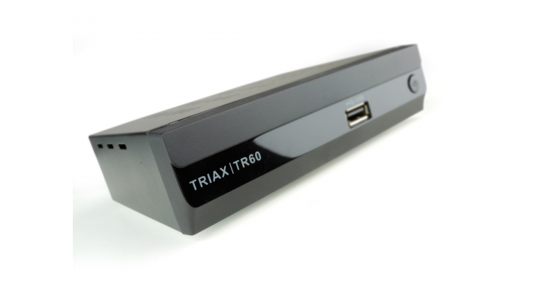 DVB-T Receiver ohne Festplatte Triax TR60 im Test, Bild 1