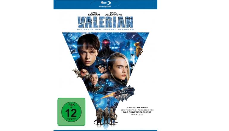 Blu-ray Film Valerian – Die Stadt der tausend Planeten (Universum) im Test, Bild 1