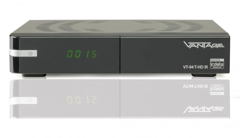 DVB-T Receiver ohne Festplatte Vantage VT94T-HD IR im Test, Bild 1