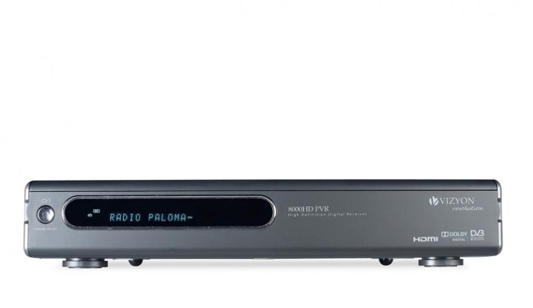 Sat Receiver ohne Festplatte Vizyon 8000 HD PVR im Test, Bild 1