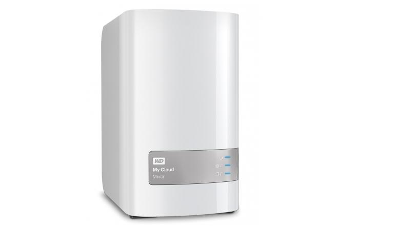 Netzwerk-Festplatten Western Digital My Cloud Mirror 4TB im Test, Bild 1