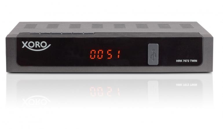 test kabel receiver mit festplatte xoro hrk 7672 twin. Black Bedroom Furniture Sets. Home Design Ideas