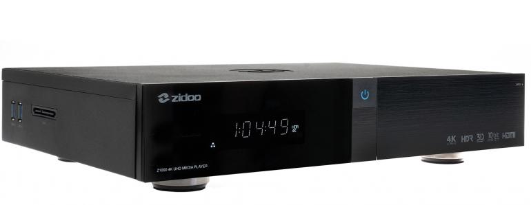 Mediacenter Zidoo Z1000 im Test, Bild 1