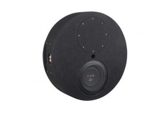 Car-Hifi Subwoofer Gehäuse Audio System Subframe R08 Flat Evo im Test, Bild 1