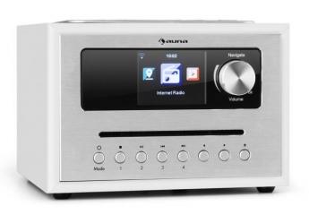 Internetradios Auna Silver Star CD Cube im Test, Bild 1