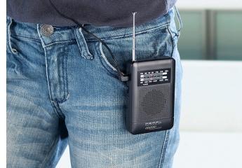 Radios Auvisio Analoges Taschenradio TAR-202 im Test, Bild 1