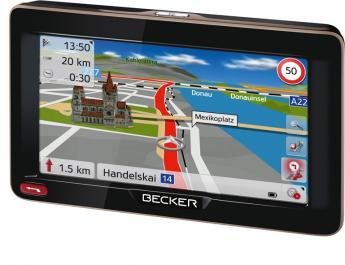 Portable Navigationssysteme Becker Ready 50 EU20 LMU im Test, Bild 1